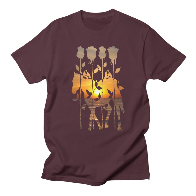 Summer breeze v.1 in Men's Regular T-Shirt Maroon by Tarotator shop