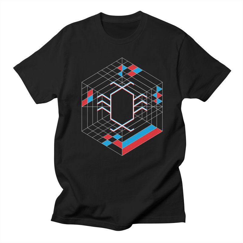 Electric Spider in Men's Regular T-Shirt Black by Tarotator shop