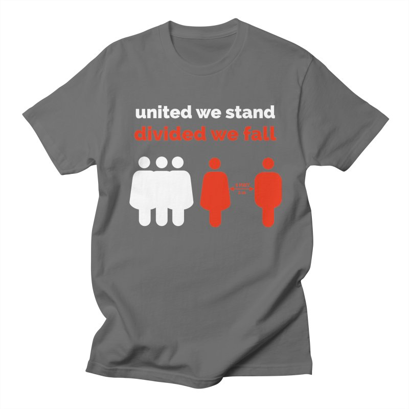 United We Stand Divided We Fall Men's T-Shirt by Tarotator shop