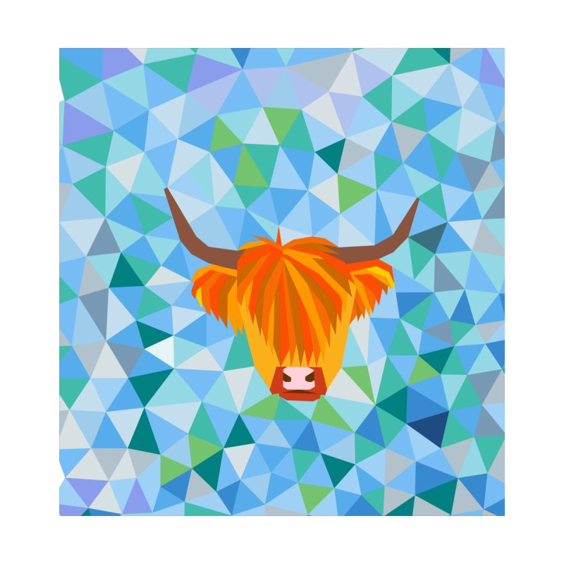 Highland Cow by Tartankiwi's Artist Shop