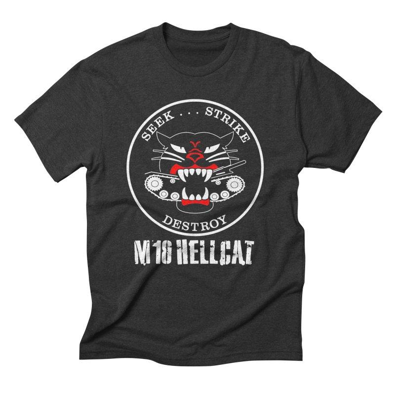Hellcat Tank Destroyer #001 in Men's Triblend T-Shirt Heather Onyx by TaterSkinz's Artist Shop