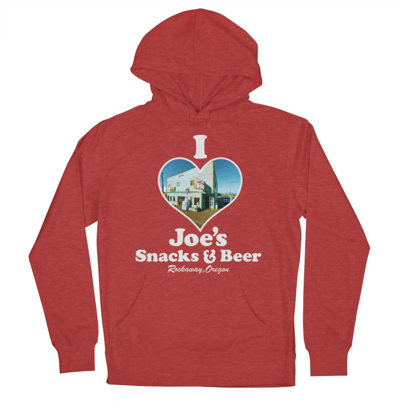 I Love Joe's Snacks & Beer Women's French Terry Pullover Hoody by Taterskinz