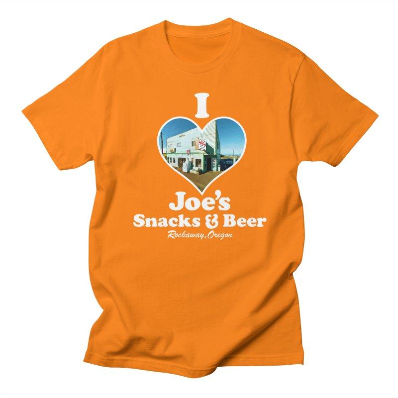 I Love Joe's Snacks & Beer Men's Regular T-Shirt by Taterskinz