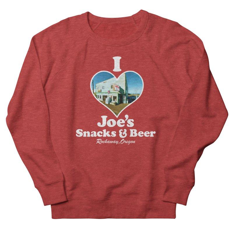 I Love Joe's Snacks & Beer Men's French Terry Sweatshirt by Taterskinz