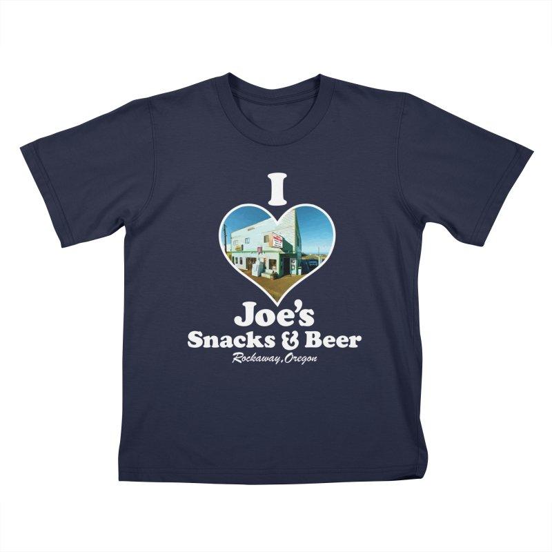 I Love Joe's Snacks & Beer Kids T-Shirt by Taterskinz