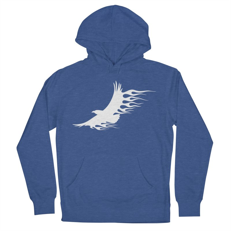 Flamin Eagle Women's French Terry Pullover Hoody by Taterskinz
