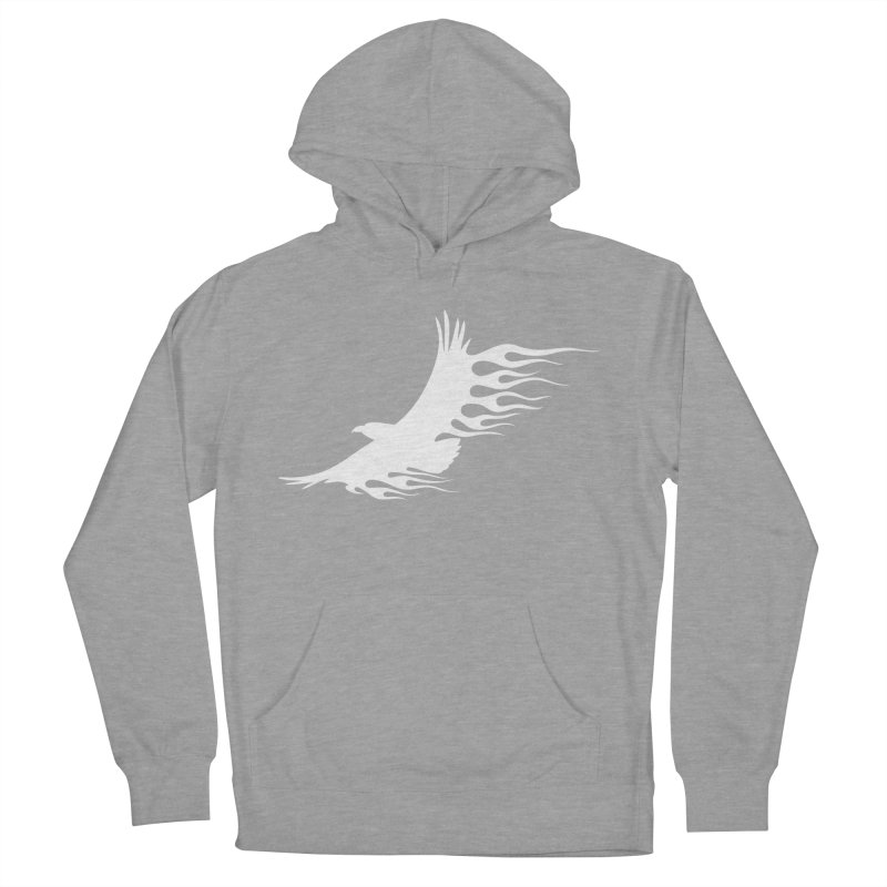Flamin Eagle Men's French Terry Pullover Hoody by Taterskinz