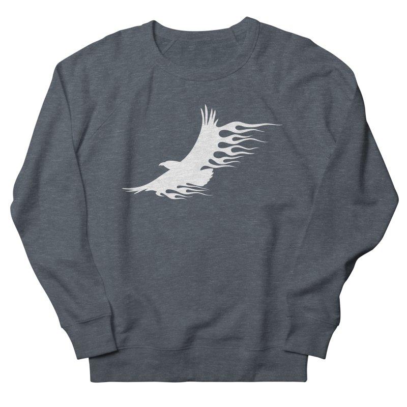 Flamin Eagle Women's French Terry Sweatshirt by Taterskinz