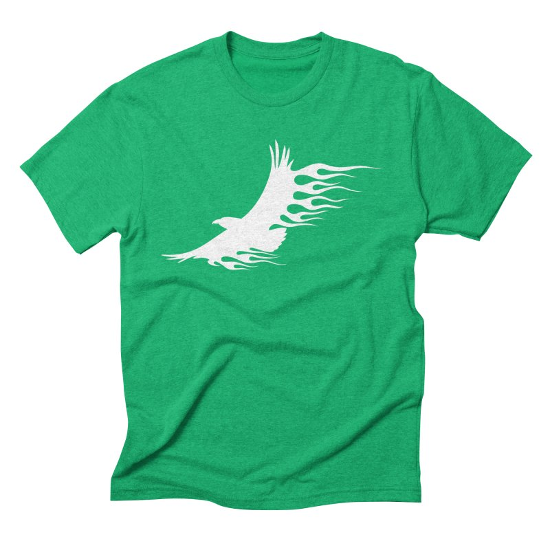 Flamin Eagle Men's Triblend T-Shirt by Taterskinz