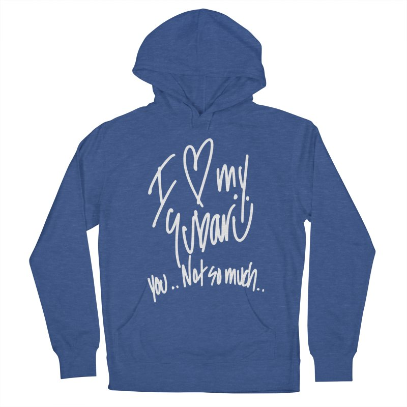 I heart my Subaru Men's French Terry Pullover Hoody by Taterskinz