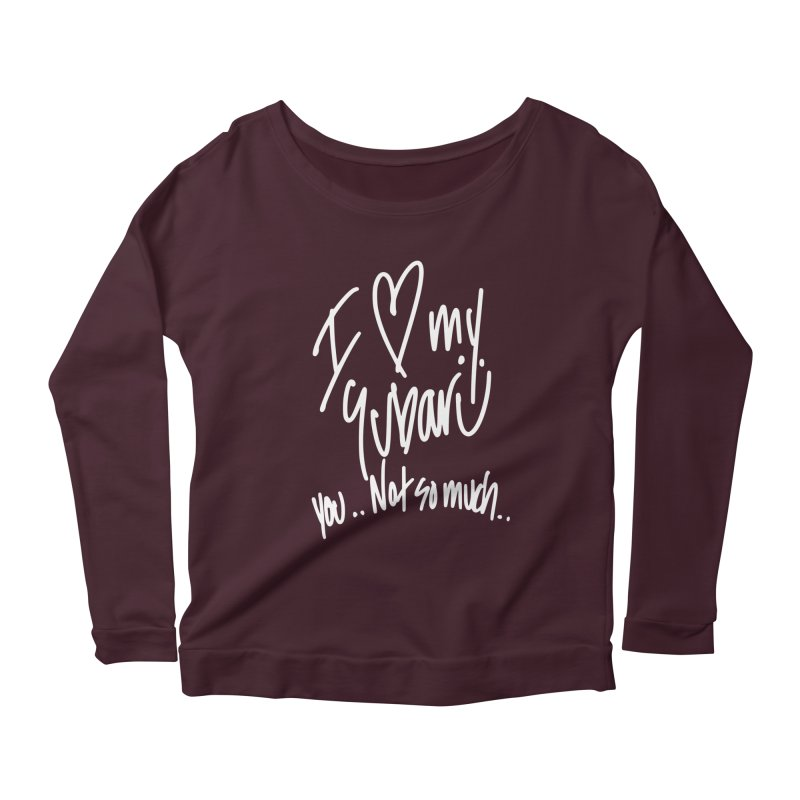 I heart my Subaru Women's Scoop Neck Longsleeve T-Shirt by Taterskinz