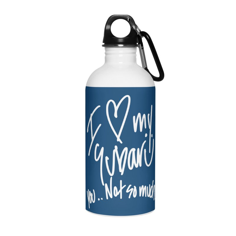 I heart my Subaru Accessories Water Bottle by Taterskinz