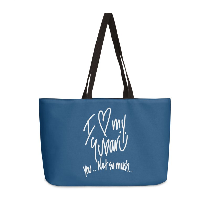 I heart my Subaru Accessories Weekender Bag Bag by Taterskinz