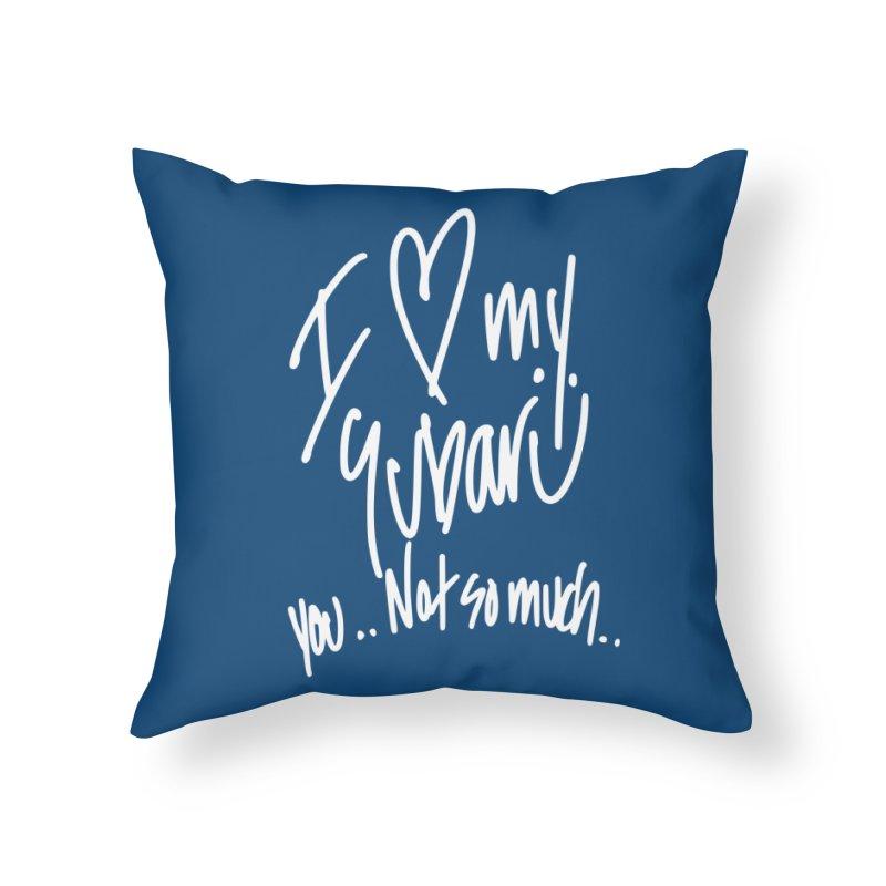 I heart my Subaru Home Throw Pillow by Taterskinz