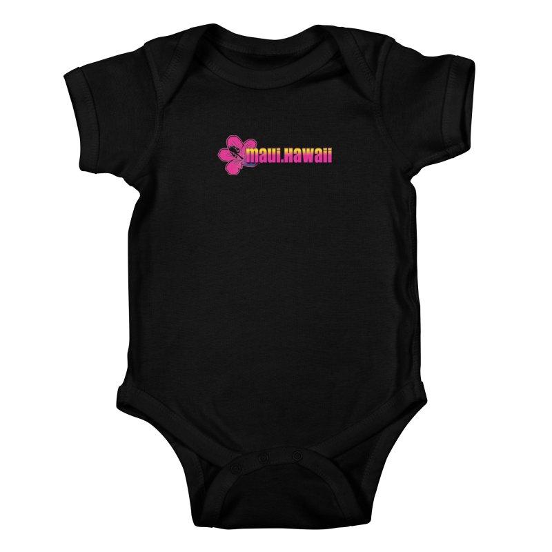 Maui Hawaii  Kids Baby Bodysuit by Taterskinz