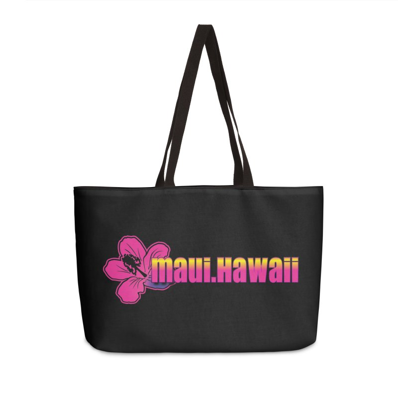 Maui Hawaii  Accessories Weekender Bag Bag by Taterskinz