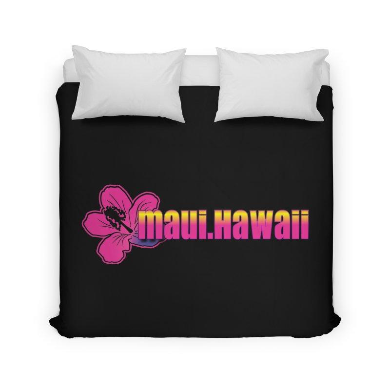 Maui Hawaii  Home Duvet by Taterskinz