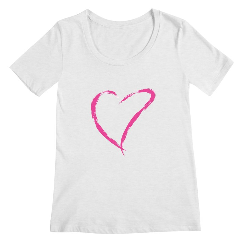 It's there Women's Regular Scoop Neck by Taterskinz