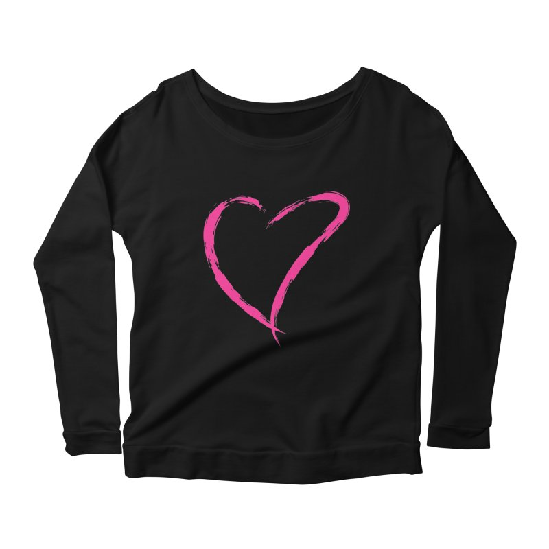 It's there Women's Scoop Neck Longsleeve T-Shirt by Taterskinz