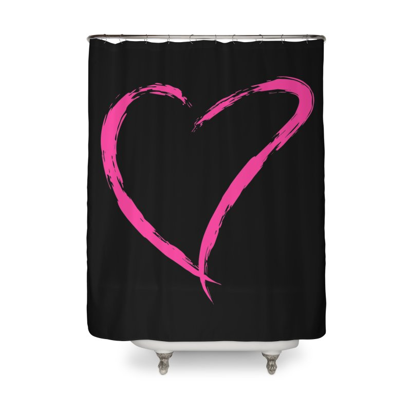 It's there Home Shower Curtain by Taterskinz