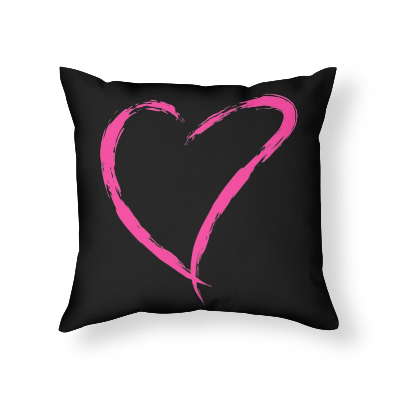 It's there Home Throw Pillow by Taterskinz
