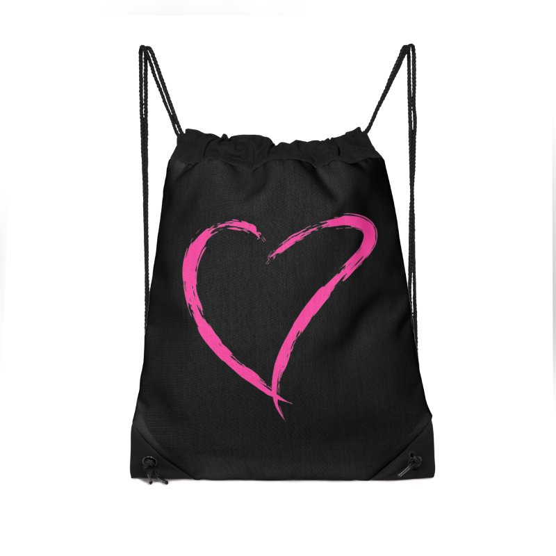 It's there Accessories Drawstring Bag Bag by Taterskinz