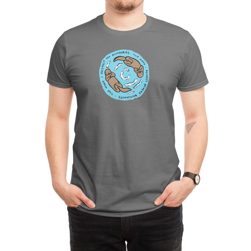 The Boundaries Cycle Men's T-Shirt by tatianagill's Artist Shop