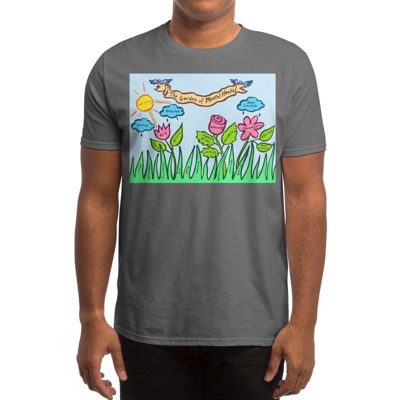 Garden of Mental Health Men's T-Shirt by tatianagill's Artist Shop