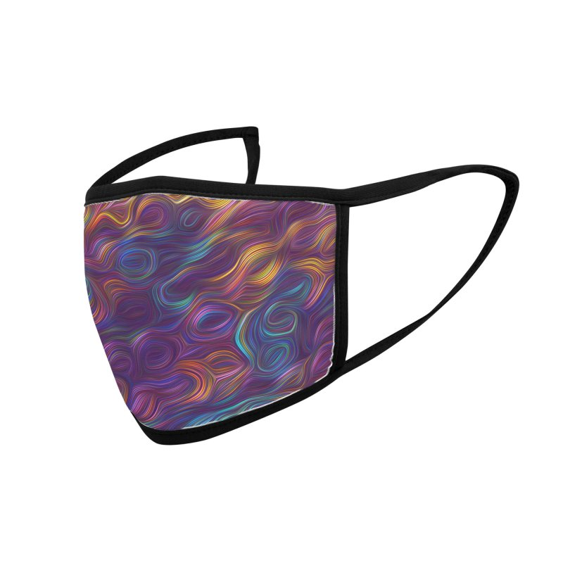 Trippy Steam Accessories Face Mask by Tato