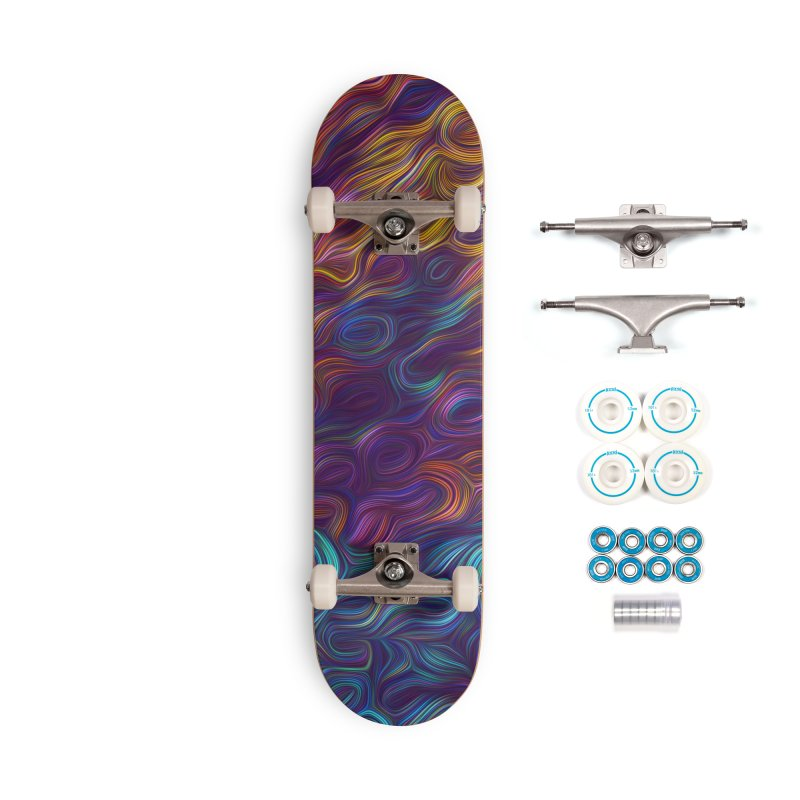 Trippy Steam Accessories Skateboard by Tato