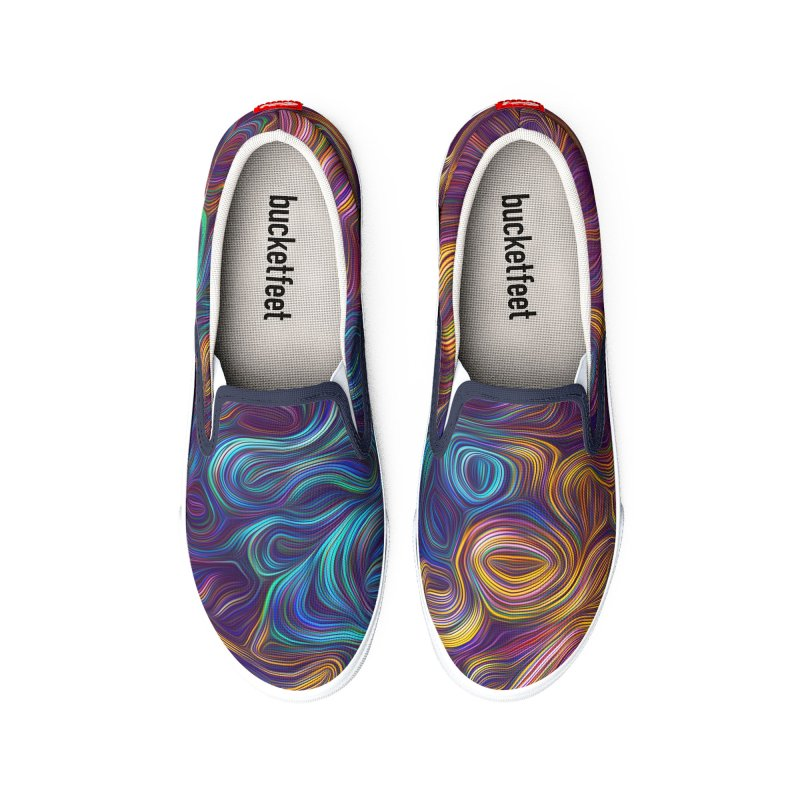 Trippy Steam Men's Shoes by Tato