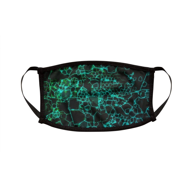 Cyber Hive Accessories Face Mask by Carlos Tato