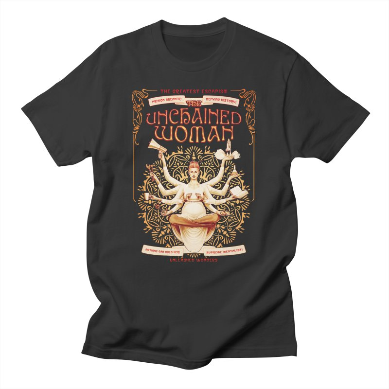 The Unchained Woman Feminine T-Shirt by Tato