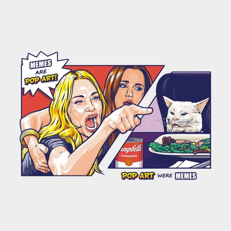Pop Memes Feminine T-Shirt by Tato