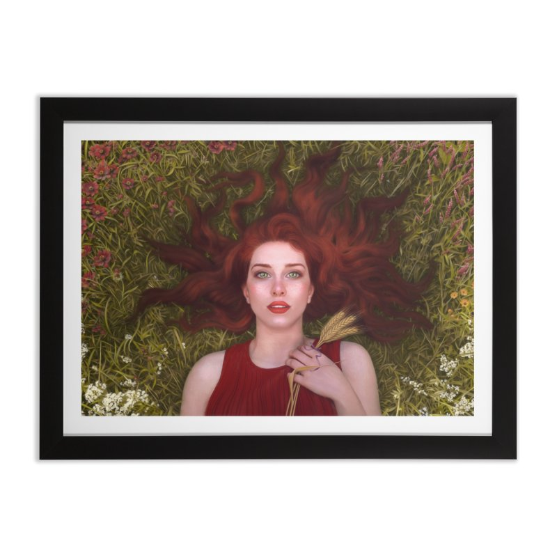 Bread and Roses Art & Home Framed Fine Art Print by Tato