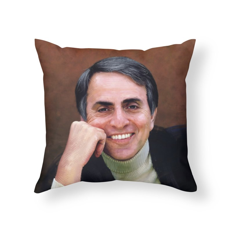 Sagan Home Throw Pillow by Tato