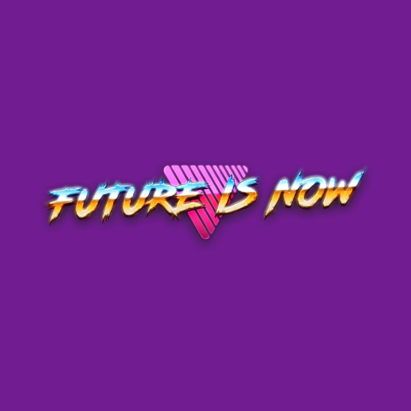Future is Now Youth Longsleeve T-Shirt by Tato