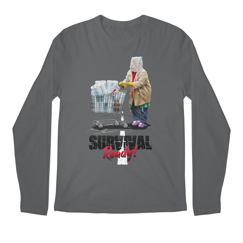 Survival Ready All Gender Longsleeve T-Shirt by Tato