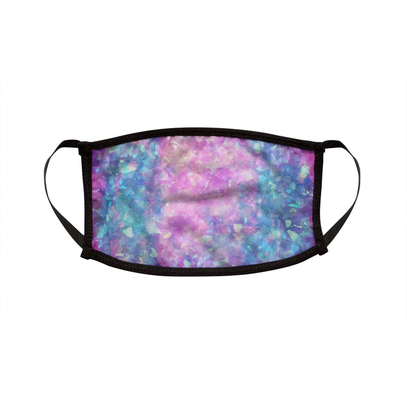 Crystal Castle Accessories Face Mask by Carlos Tato