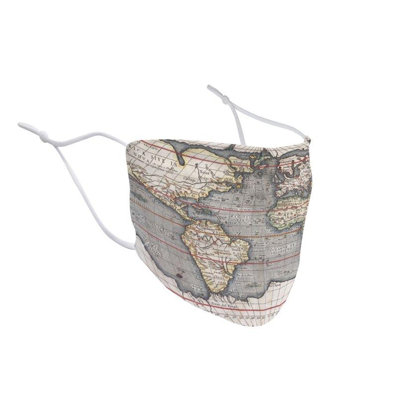Typus Orbis Terrarum Accessories Face Mask by Tato