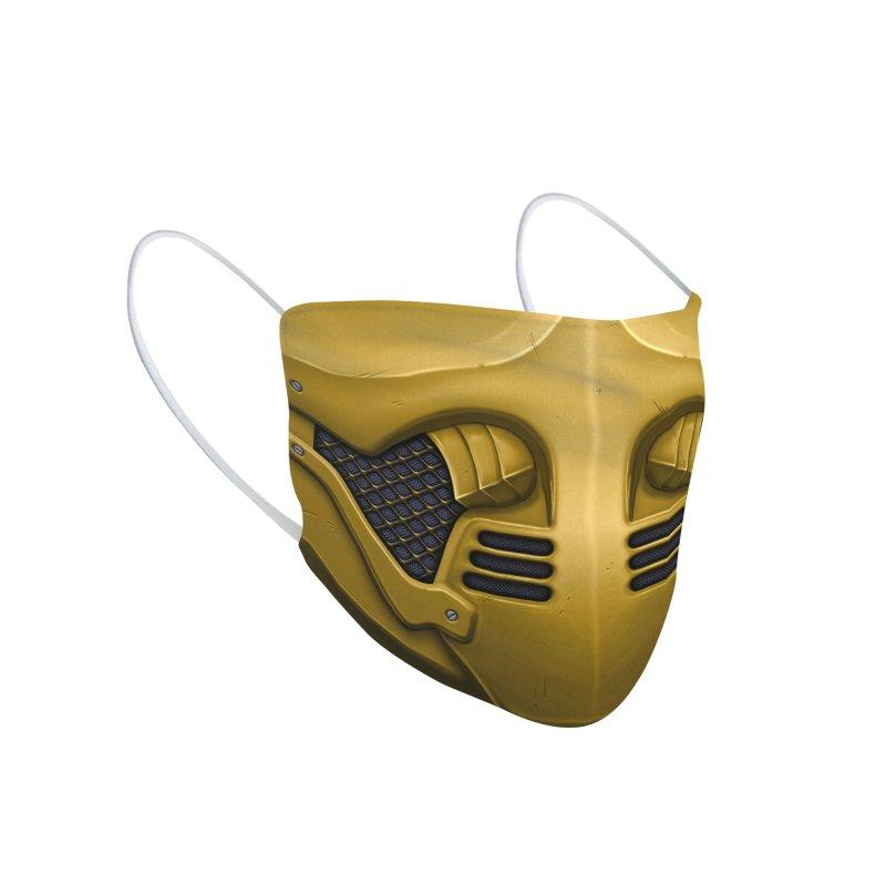 Kombat Accessories Face Mask by Carlos Tato