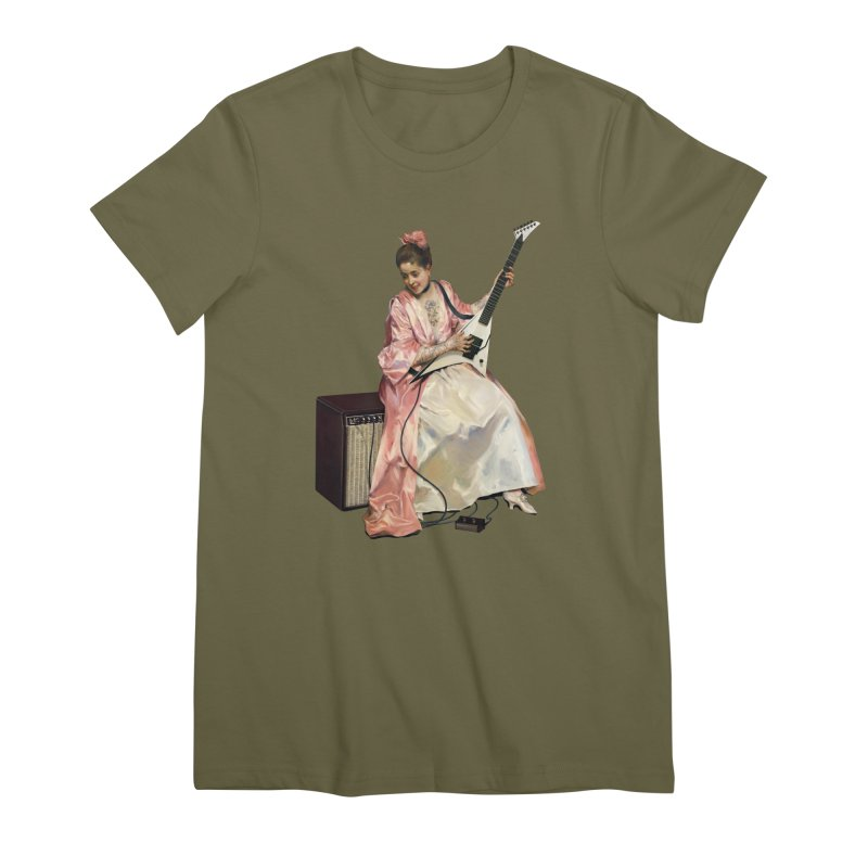 Aline with new guitar Feminine T-Shirt by Tato