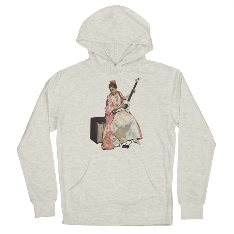 Aline with new guitar Feminine Pullover Hoody by Tato