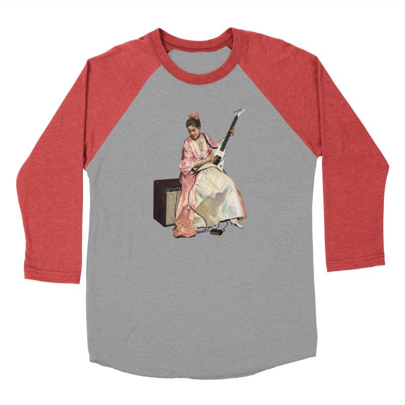 Aline with new guitar Feminine Longsleeve T-Shirt by Tato