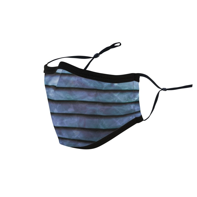 Metal Stripes Accessories Face Mask by Tato