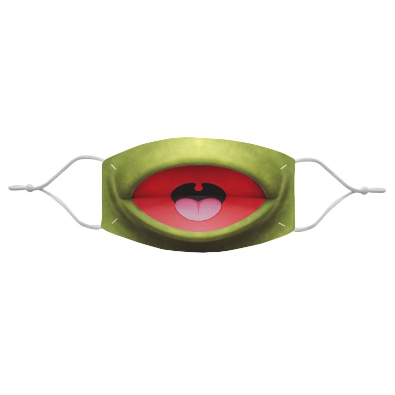 Green Puppet Accessories Face Mask by Tato