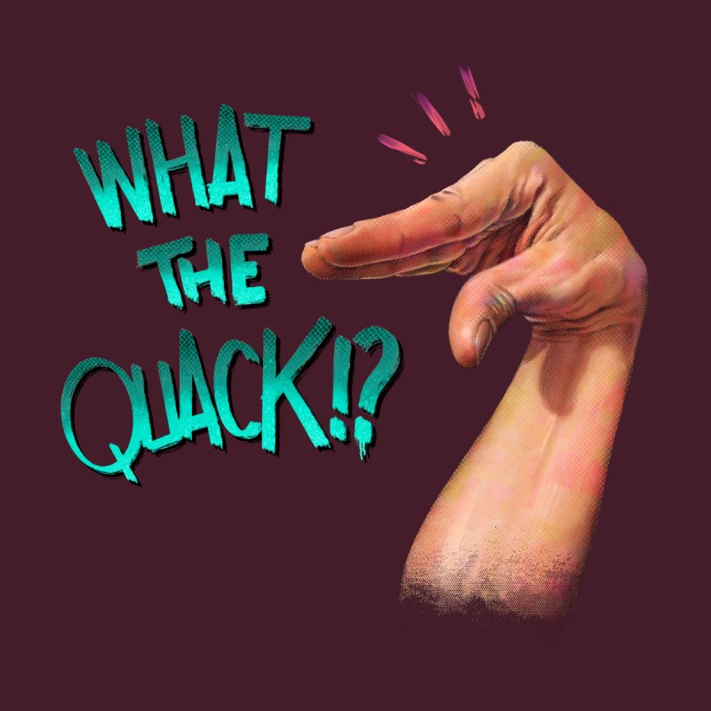 What The Quack!? All Gender Longsleeve T-Shirt by Tato