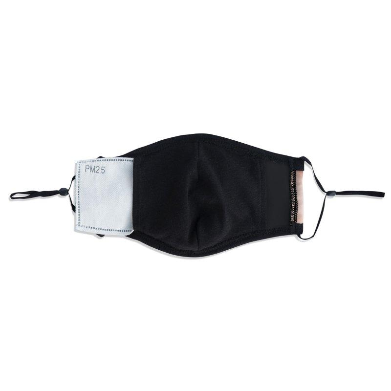 Sugar Skull Accessories Face Mask by Tato