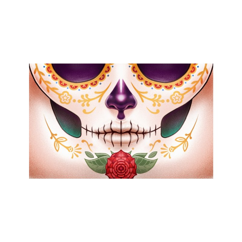 Sugar Skull Accessories Face Mask by Tato