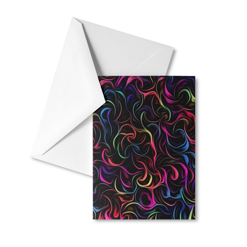 Dancing Colors Accessories Greeting Card by Tato